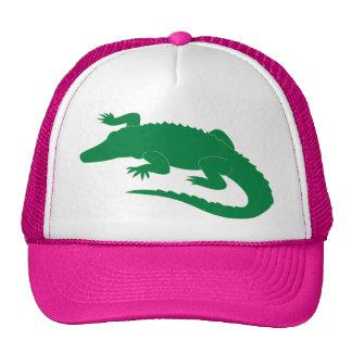 Reptil del cocodrilo del cocodrilo del cocodrilo gorro