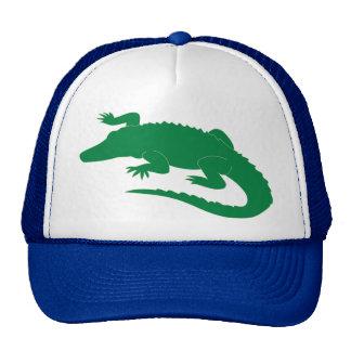 Reptil del cocodrilo del cocodrilo del cocodrilo gorros bordados
