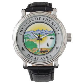 Repu del símbolo de la bandera de Estados Unidos Reloj