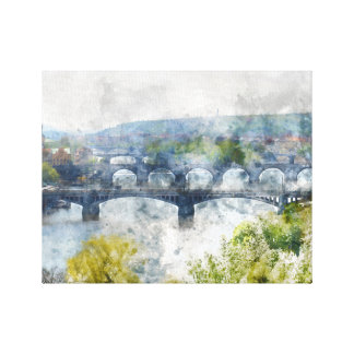 República Checa de Praga Impresión En Lienzo
