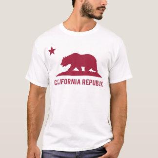 República de California - básica - rojo Camiseta