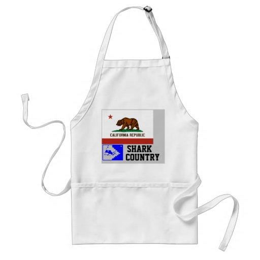 República de California: País del tiburón Delantales
