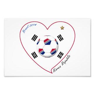 REPÚBLICA DE COREA FÚTBOL del equipo nacional 2014 Cojinete