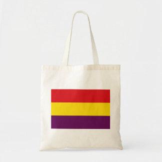 República de la bandera de España - Bandera Bolso De Tela