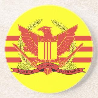 República de la bandera de las fuerzas militares posavasos de arenisca