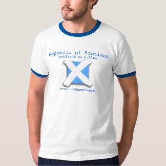 República de la camiseta de Scptland
