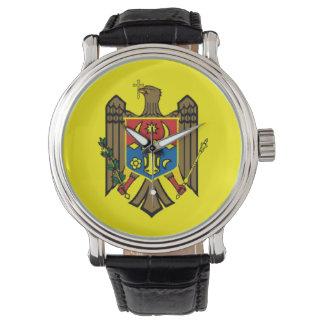 República del símbolo de la nación de la bandera reloj de pulsera