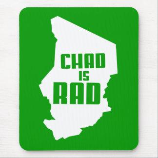República eo Tchad es el Rad (sólido) Alfombrilla De Ratón