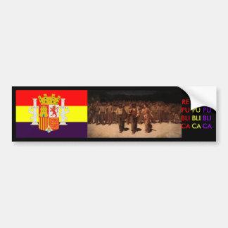 República española España Pegatina Para Coche