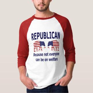 Republicano - camisa del bienestar