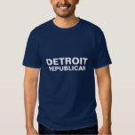 Republicano de Detroit Camisetas