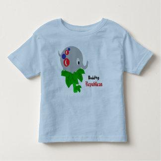 Republicano de florecimiento camiseta