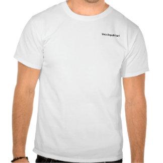 Republicano del voto camisetas