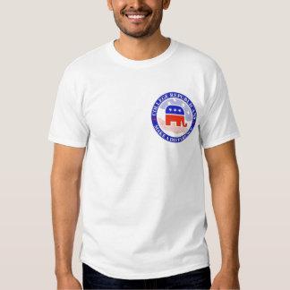 republicanos del logotipo camisetas