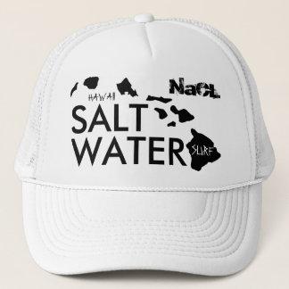 Resaca del agua salada del NaCL Gorra De Camionero