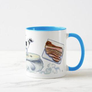 resaca y césped taza