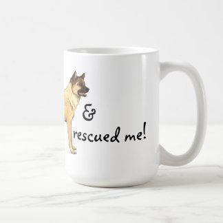 Rescate Akita Taza De Café