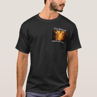 Rescate del fuego - camiseta evangélica