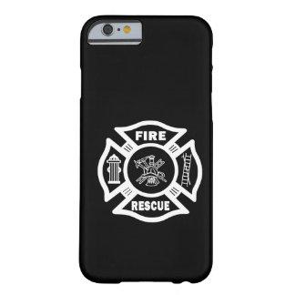 Rescate del fuego funda de iPhone 6 barely there