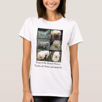 Rescate maltés del puppymill camiseta