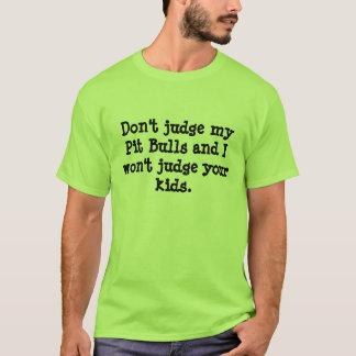Rescate Oklahoma del pitbull: No juzgue la Camiseta