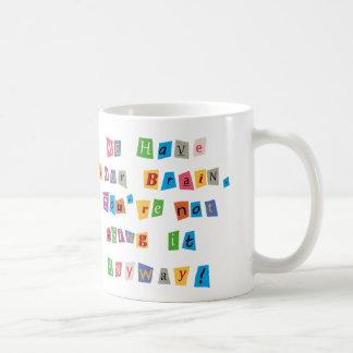Rescate para su taza del coffe del cerebro