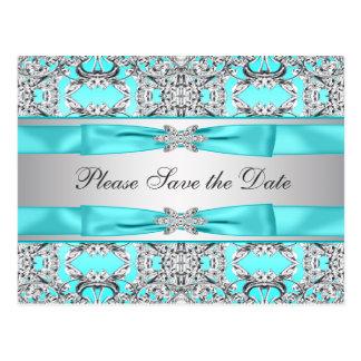 Reserva azul de la plata del trullo la fecha postal