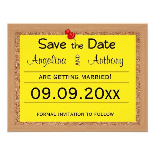 Reserva de Corkboard los recordatorios del boda de Anuncios