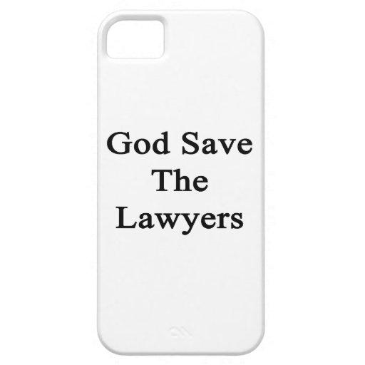 Reserva de dios los abogados iPhone 5 fundas