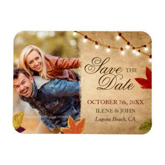 Reserva de encargo del boda del otoño los imanes