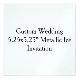 Reserva de encargo del boda la invitación de la invitación 13,3 cm x 13,3cm