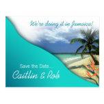 Reserva de Jamaica la fecha (aguas esmeralda)