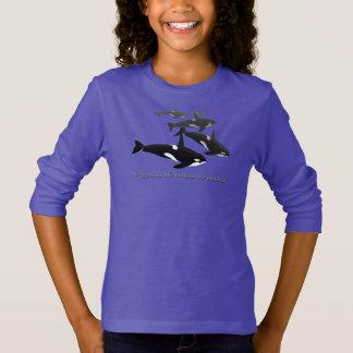 Reserva de la camisa de la ballena de la orca del