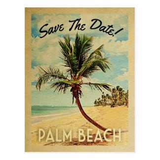 Reserva de la Florida del Palm Beach el vintage de Postal