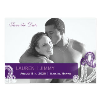 Reserva de la foto del boda de Paisley de la Invitación 12,7 X 17,8 Cm