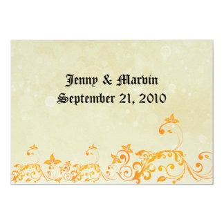 Reserva de la obra clásica la fecha invitación 12,7 x 17,8 cm