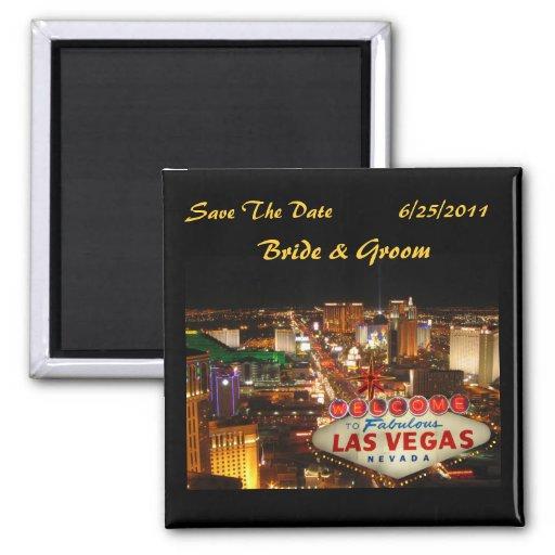 Reserva de la tira de Las Vegas el imán de la fech