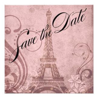 Reserva de la torre Eiffel de Fleur de París el ro Invitacion Personal