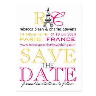 Reserva de la torre Eiffel de París las postales