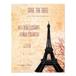 Reserva de la torre Eiffel la invitación de la fec
