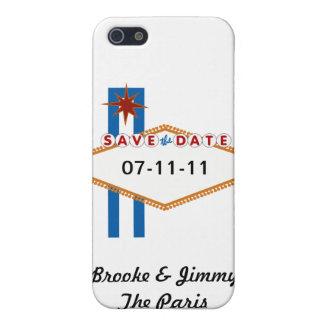 Reserva de Las Vegas la fecha iPhone 5 Cárcasa