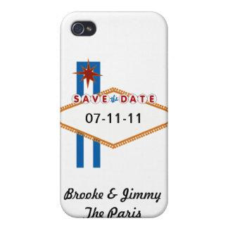 Reserva de Las Vegas la fecha iPhone 4 Cárcasas