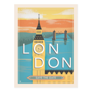 Reserva de Londres el | la fecha Postal
