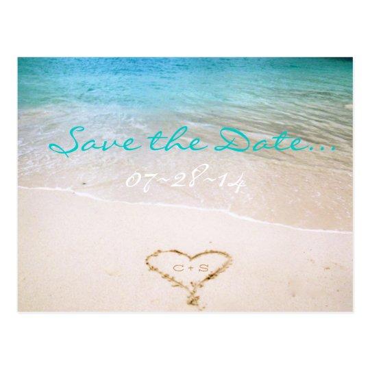 Reserva del boda de playa la postal de la