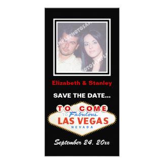Reserva del boda del destino de la muestra de Las Tarjetas Con Fotos Personalizadas