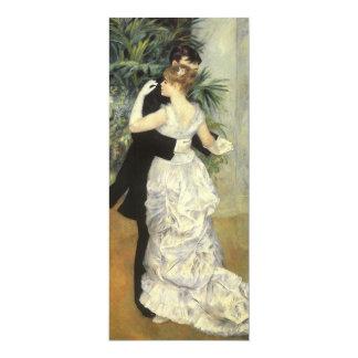 Reserva del boda del vintage la fecha, danza de la invitación 10,1 x 23,5 cm