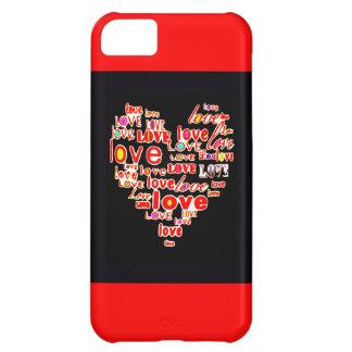 Reserva del el día de San Valentín del corazón del Carcasa iPhone 5C