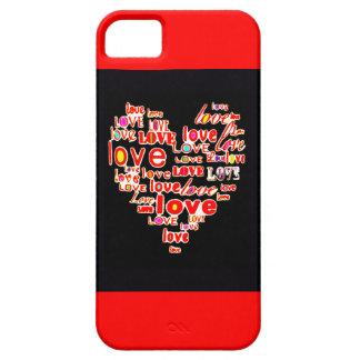 Reserva del el día de San Valentín del corazón del Funda Para iPhone SE/5/5s