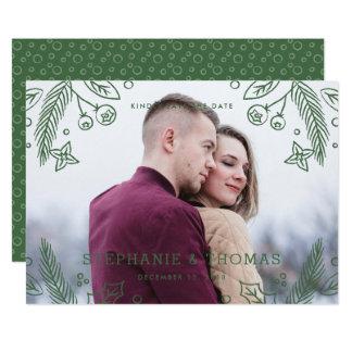 Reserva del Flourish del invierno la tarjeta de