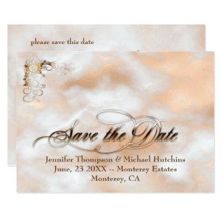 Reserva del personalizable la tarjeta de fecha